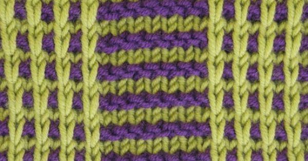 Knitting Stitches Rs : Right side of knitting stitch pattern   Slip Stitch 11. Knitting Pinteres...