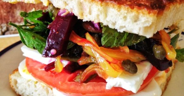 The Balmy Sandwich Recipe — Dishmaps