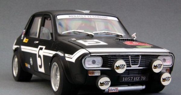 Vonsontag Dacia 1300 Renault 12 Gordini Diecast 1 43 Model