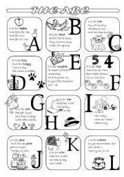 Abc Read Sing Learn Write Phonics Sheet