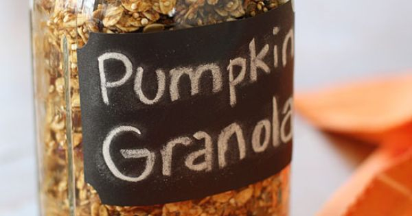 Skinny Pumpkin Granola | Skinnytaste 1/4 cup uncooked quinoa, rinsed well and