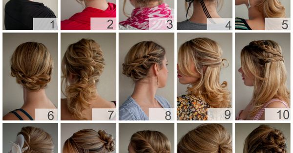 Full instructions, hints and tips for a ton of different hairstyles.