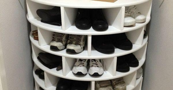 schuhregal selber bauen f r jede ecke n tzlich sein ankleide pinterest schuhregal selber. Black Bedroom Furniture Sets. Home Design Ideas