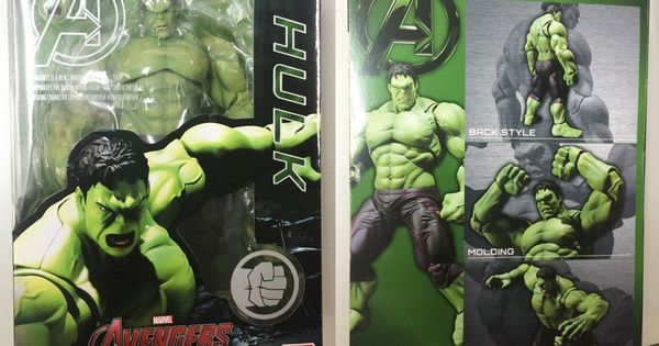 "SHF S.H.FIGUARTS Super Hero AVENGER Age of Ultron HULK 6/"" Action Figure Toys"