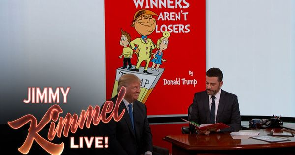 Donald trump childrens book by jimmy kimmel
