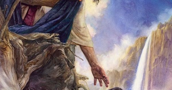 The Rescue by Nathan Greene ~ Jesus finding the lost sheep ...