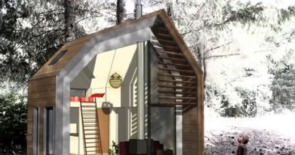 Portable Mini House inside Tiny Houses Pinterest House