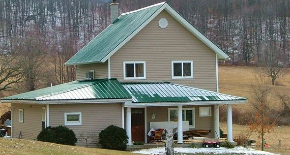 Best I Want A Green Tin Roof On My Cedar Stone House Our 400 x 300