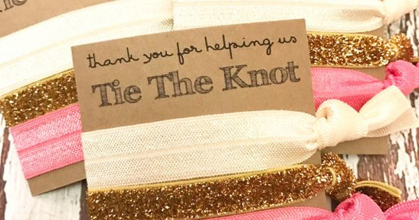 The Knot Wedding Gifts: Thank You For Helping Us Tie