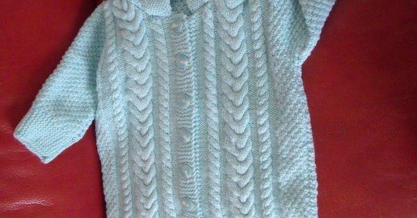 Patron tricot nid d ange b b gratuit tricot bebe pinterest patron tricot nids et anges - Patron nid d ange bebe gratuit ...