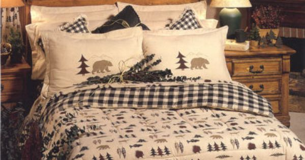 Northern Exposure Moose Amp Bear Bedding Collection Bags