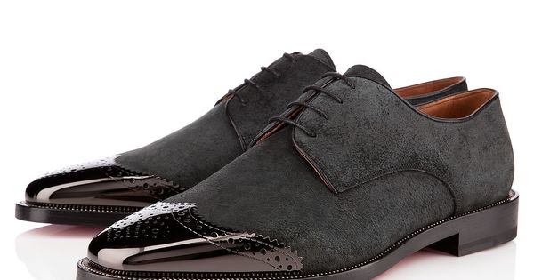 Louboutin Gareth Zip Men's Black Leather