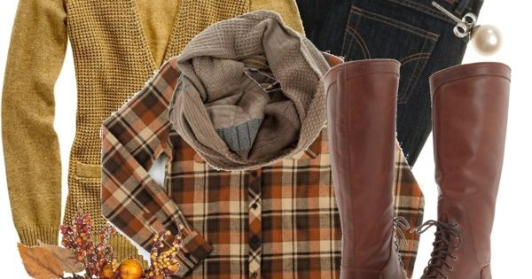 """Fall Colors"" - great casual look for fall"