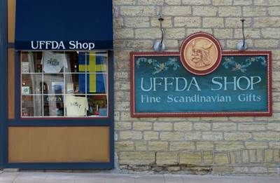 Uffda Shop Red Wing Minnesota Scandinavian Gift Main Street