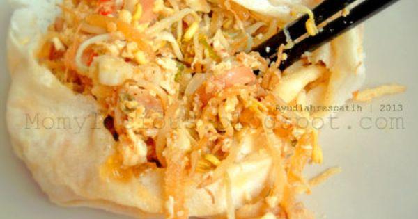 Momylicious Lumpia Basah Jajanan Dari Bandung Makanan Fotografi Makanan Lumpia