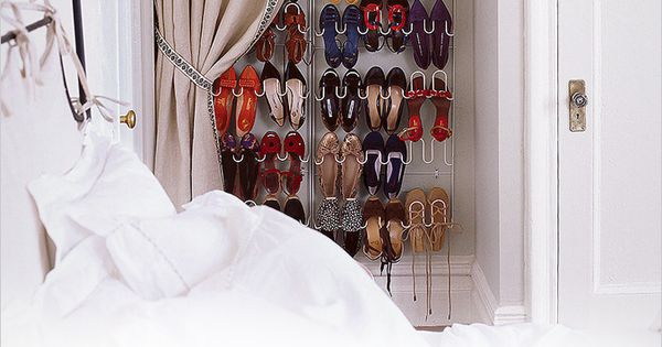Organize Your Clothes 10 Creative And Effective Ways To Store And Hang Your Clothes: 9 Shoe Storage Ideas That Don't Require Closet Space