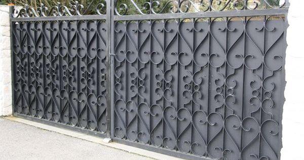 portail et portillon en fer forg occasion portail gate pinterest portillon portail et. Black Bedroom Furniture Sets. Home Design Ideas