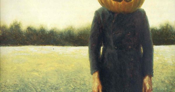 Pumpkinhead - Self-Portrait Artist: Jamie Wyeth Completion Date: 1972 Style: Contemporary Realism