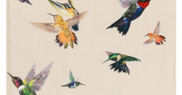 Hummingbird Rug Home Decor