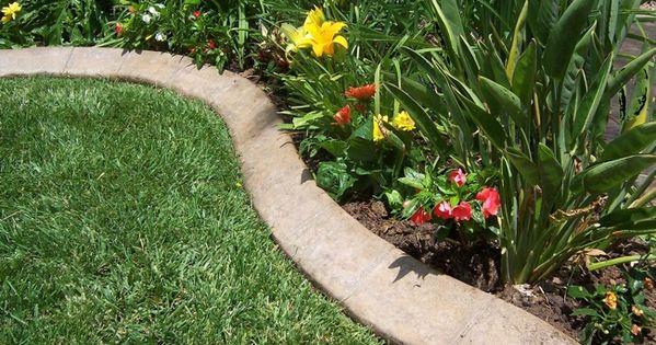 Landscaping Borders Menards : Garden edging gardens borders and concrete landscape
