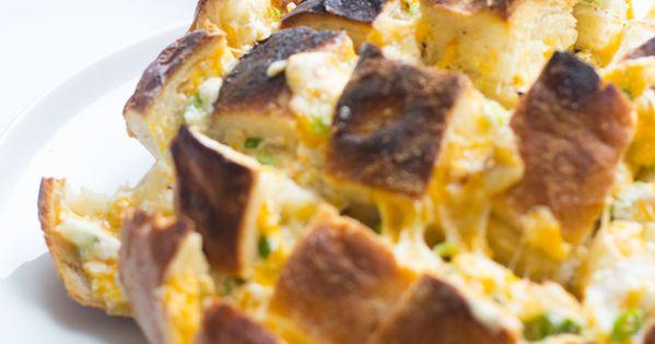 ... ,Cheesy Bread Bake | Recipe | Onion Bread, Cheese Bread and Breads