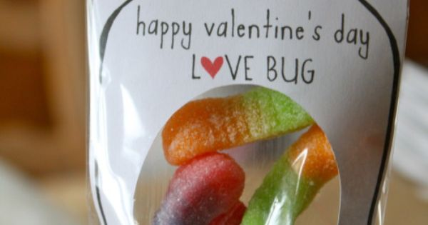 Cute valentines day idea! Love bugs