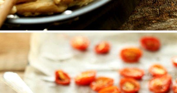 30 Minute Creamy Vegan Garlic Pasta with roasted tomatoes