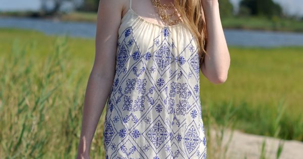 Breezy dress.