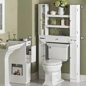34++ Over the toilet etageres type