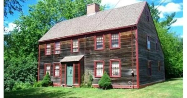 822 Hilldale Ave Haverhill Ma 01832 The Edward Ordway Homestead Circa 1705 Is A Fine Example Of O Estate Homes Real Estate Office Architectural Inspiration