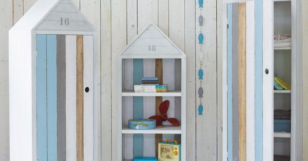 dressing cabine de plage blanche cabines de plage armoire enfant et cabine. Black Bedroom Furniture Sets. Home Design Ideas