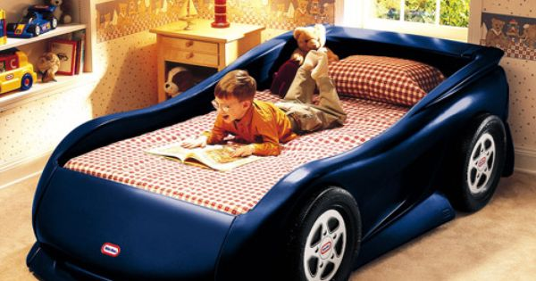 Little Tikes Sports Car Twin Bed Medium Blue If I Have