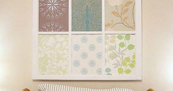 Old Window Frame Decorating Ideas | ... furnishings design and decor decor