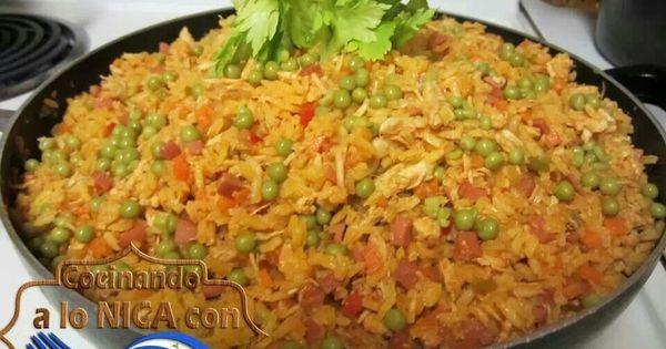Arroz a la Valenciana   Food   Pinterest   Nicaraguan food ...