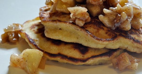 Caramel, Pancakes and Apples on Pinterest