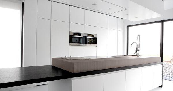 project 12 - WILFRA keukens  Interieurinrichting  Waregem  Design keuken ...