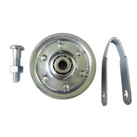 Pulley For Diy Barn Door Rather Than Buying Expensive Hardware