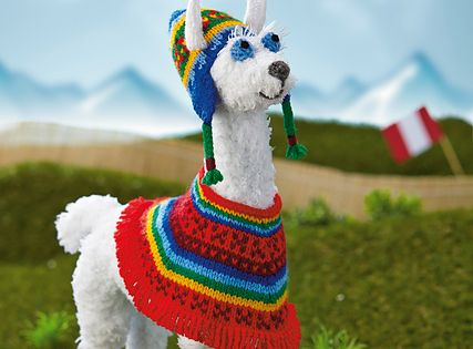 Peruvian llama pattern by Alan Dart   Libraries, Pattern ...