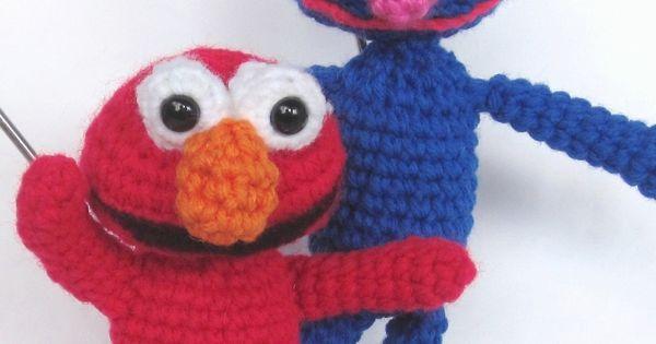 Elmo Doll Knitting Pattern : Crochet Patterns Amigurumi Sesame Street by ...