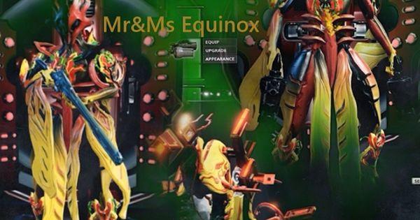 Warframe Ms Mr Equinox Dex Sybaris Twin Kohmak Telos Boltace Pc Dex Ms Mr Mr