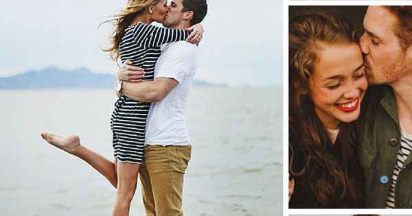 50 super cute pose ideas for your engagement photos. See them all here → howheasked.com/...