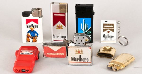 Antique Marlboro Advertising Lighters I Have Some Of