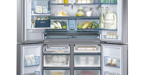 34 Cu Ft 4 Door Flex Chef Collection Refrigerator With