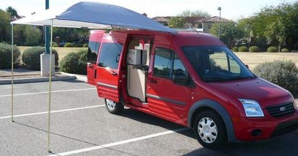 Great Ford Transit Connect Conversion Awning Ford Transit Ford