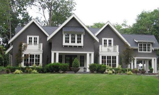 Like this exterior color home exteriors - Pratt and Lambert - Wendigo