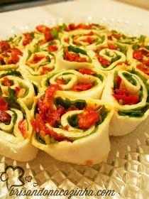 Rondelli De Bufala Com Rucula E Tomate Seco Receitas Para Arroz