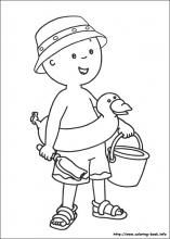 Caillou Coloring Pages On Coloring Book Info Coloring Books Cartoon Coloring Pages Summer Coloring Pages