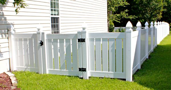 Displaying Vinyl Semi Privacy 4 Ft W Gate 0 Jpg Fence