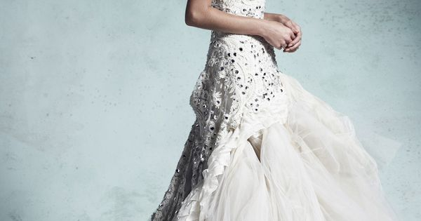 Enchanted wedding gown by Collette Dinnigan