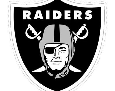 Large Oakland Raiders Logo Cut Out From Printabletreats